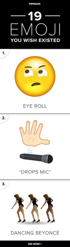 We got new Emojis in 2015, but there are a few we still don't have.