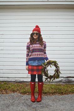 Outfit: Feeling Festive