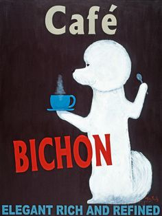 Café Bichon Prints by Ken Bailey at AllPosters.com