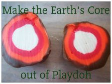 Rocks and Soil Unit - Make the Earth's Core out of Playdoh.
