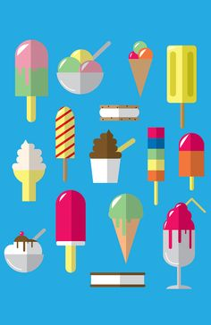 Ice Cream on Behance