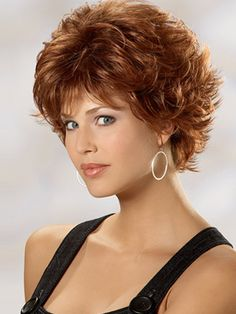 Short hair styles for curly hair' saved from olixe.com - Wendy Schultz - Hair Designs