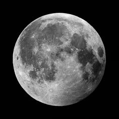 Moon by penguinbush, via Flickr