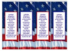 These Pledge of Allegiance bookmarks are part of  my first Social Studies vocabulary  packet. I am posting them as a birthday gift to America....