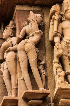 Gorgeous Bum!  Khajuraho, India   Kama Sutra Temples Temple Architecture, Indian Architecture, Khajuraho Temple, History Of India, Stone Sculpture, Sculpture Art, Incredible India, Archaeology, Ancient Art