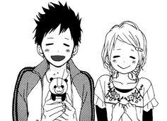 Mostly shoujo mangacap but also shounen and more. Monochrome and colored. Manga Art, Manga Anime, Takano Ichigo, Anime Monochrome, Manga Clothes, Zen, Cute Anime Coupes, Manga Couple, Manga Love