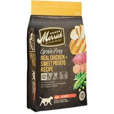 Merrick Grain Free Real Chicken and Sweet Potato Dry Dog Food, 4 lb. *** For more information, visit image link. (This is an affiliate link and I receive a commission for the sales)