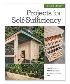 Step-by-Step Projects for Self-Sufficiency Hardcover #zulily #zulilyfinds
