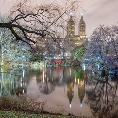 Attract what you expect, Reflect what you desire, Become what you respect, Mirror what you admire. ~PositiveLife ~~~~~~~~~~~~~~~~~~~~~~~~~~~~~~~~~~~~~ A view of San Remo Building reflected in the Lake. New York City Central Park, Reflection, Nyc, Instagram Posts, Beautiful, Building, Respect, Spaces, Feelings