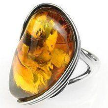 amber - ring
