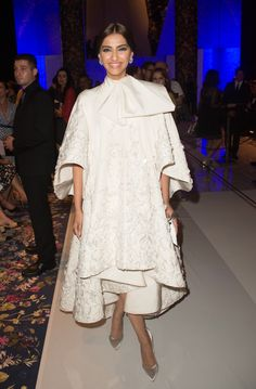 SONAM KAPOOR At Ralph & Russo's Haute Couture AW16/17 show  GETTY