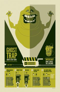 Ghostbusters by Tom Whalen