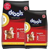 Drools Chicken And Egg Puppy Dog Food 3 Kg With Free 1 2 Kg In