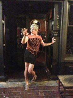 Josh Ramsay dressed as a girl? Nice skirt ;) meoww