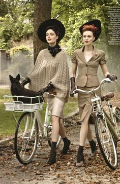 stylish cycling. with a recreational bike, sure. Im loving the Stylish Cycling phrase !