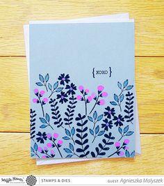 Loved Stamp Set – Waffle Flower Crafts