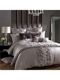 diy headboard        Kylie Minogue Giana bed linen - House of Fraser