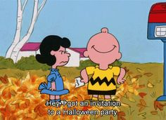 You get excited when you have plans for once! / 18 Signs You're A Real Life Charlie Brown (via BuzzFeed Community)