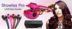Arricciacapelli Professionale Showliss Pro LCD Hair Curler