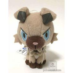 Pokemon 2016 Banpresto UFO Game Catcher Prize Rockruff Plush Toy