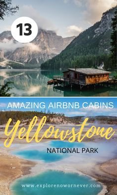 Looking for the best Airbnb cabins in Yellowstone National Park? Here are 13 incredible places to stay—with gorgeous mountain views and wildlife out your window—organized by each of the park's 5 entrances. Yellowstone National Park | Yellowstone travel tips | where to stay in Yellowstone Yellowstone Cabins, Yellowstone National Park, National Parks, Unique Hotels, Mountain View, Travel Tips, Wildlife, Around The Worlds, Window