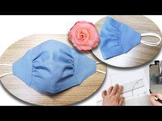 Sewing Hacks, Sewing Tutorials, Sewing Patterns, Diy Mask, Diy Face Mask, Face Masks, Pretty In Pink, Baby Turban, Diy Baby Headbands
