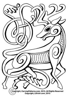 Free Celtic Animal Relief Patterns - by LSIrish @ LumberJocks.com ~ woodworking community