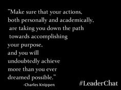 National Society of Leadership and Success President Charles Knippen Moving Forward, Leadership, Motivational Quotes, Success, Cards Against Humanity, School, Life, Move Forward, Motivating Quotes