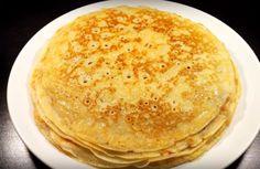 Cea mai reușită rețetă de clătite pe bază de chefir - Bucatarul Crepe Recipes, Scones, Pancakes, Food And Drink, Vegetarian, Breakfast, Ethnic Recipes, Desserts, Festive