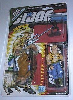Gnawgahyde (v1) G.I. Joe Action Figure - YoJoe Archive