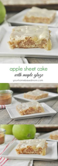 Apple Sheet Cake wit