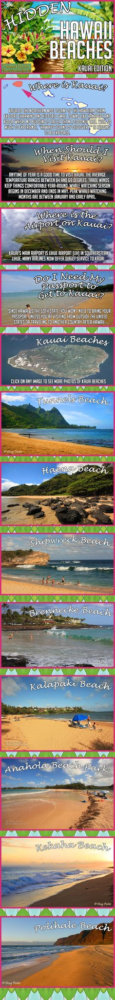Hidden Hawaii Beaches - Kauai Edition - www.SummitPacific.com