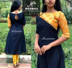 Discover thousands of images about Almeena Salwar Kameez Neck Designs, Silk Kurti Designs, Churidar Designs, Kurta Designs Women, Kurti Designs Party Wear, Dress Neck Designs, Designs For Dresses, Neck Designs For Suits, Blouse Designs