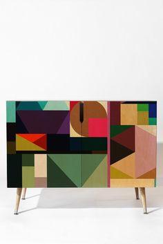 Fimbis Kaku Credenza | DENY Designs Home Accessories