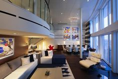 Photos and details of the Royal Caribbean Anthem of the Seas cruise ship cabins and suites