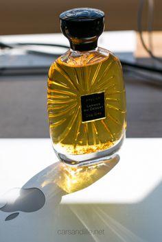 Larmes Du Désert by Atelier Des Ors Perfume Gold Leaf Louis Vuitton Makeup Bag, Perfume Collection, Smell Good, Gold Leaf, Cologne, Or, Deserts, Perfume Bottles, Fragrance