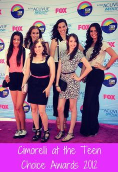 CIMORELLI nominated for a Teen Choice 2013!