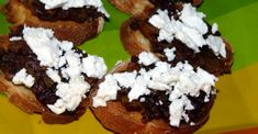 Savory Bacon Jam Served On A Crostini Roll With Hearty Goat Cheese