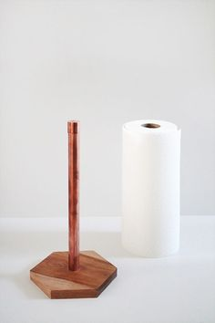 a paper towel holder is always an afterthought for me. case in point - i've been wanting to DIY one for a year now. but the other day when i deep cleaned the kitchen for the first time in months, i...