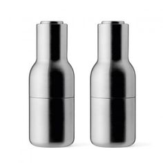 Menu Pfeffer- & Salzmühle Bottle Grinder-Set small stainless steel…