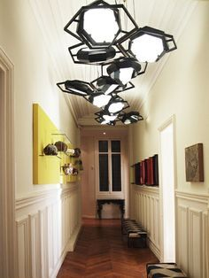 charles architectural round ceiling fixture multi fifties - Google Search