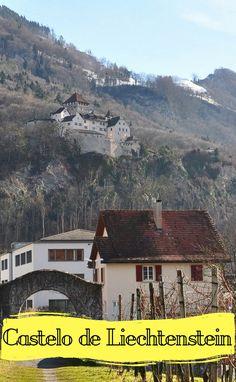 O lindo Castelo de Liechtenstein, você vai se surpreender!
