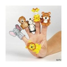 24 Safari Zoo Theme Finger Puppets  Order at http://www.amazon.com/Safari-Zoo-Theme-Finger-Puppets/dp/B0036WF4MI/ref=zg_bs_166333011_11?tag=bestmacros-20