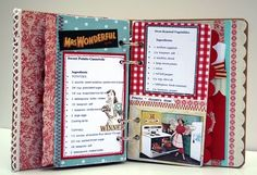 Cookbook- what a great idea! Might have to work on putting my own together.