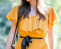 #autumn #autumnfashion #jumpsuit #jumpsuitoutfit #fashion #moutarde #mustard #glamorous #chic #classy #style #fashionstyle