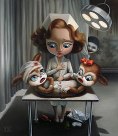 The Unclouded Mind, Creepy & Cute Mini-Exhibition by Artist Xue Wang