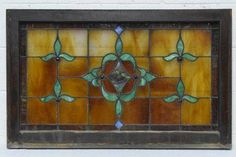 Salvaged Stained Glass Window - Columbus Architectural Salvage
