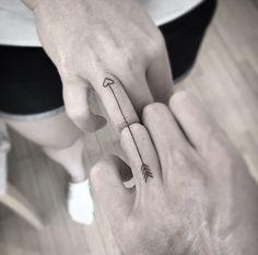 Tatuaje original y discreto que puedes hacerte con tu persona favorita