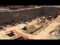 Rosebank Firestation foundations