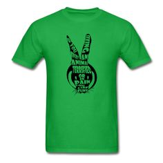 Animal Rights - Men's T-Shirt